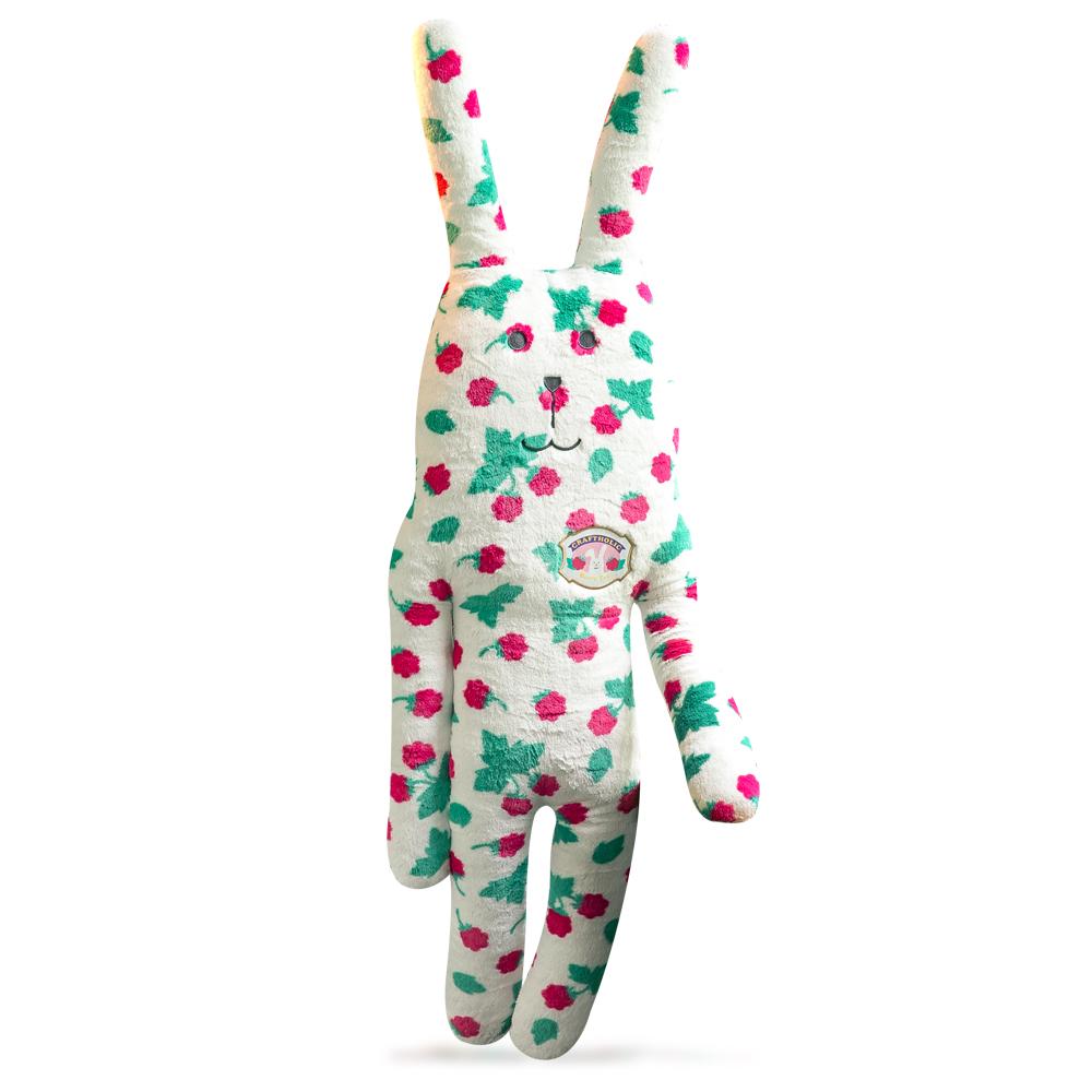 CRAFTHOLIC 宇宙人 覆盆莓兔大抱枕