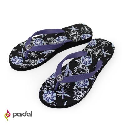 paidal春暖花開足弓夾腳拖鞋-夢幻紫