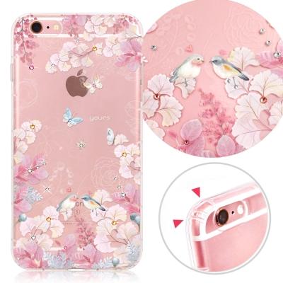 YOURS APPLE iPhone6s Plus 奧地利彩鑽防摔手機殼-花享