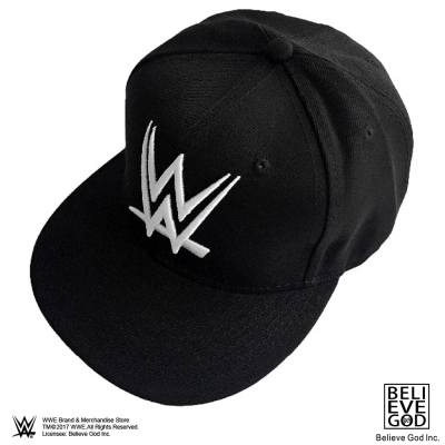 WWE正版授權WWE LOGO 帽