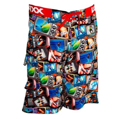 WAXX 電視牆高質感吸濕排汗運動海灘衝浪褲