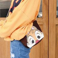 迪士尼可愛大頭化妝包