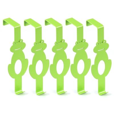 Wisdom 青蛙造型門後單鉤(十入)