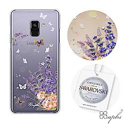 apbs Samsung A、J、C系列 施華洛世奇彩鑽手機殼-普羅旺斯