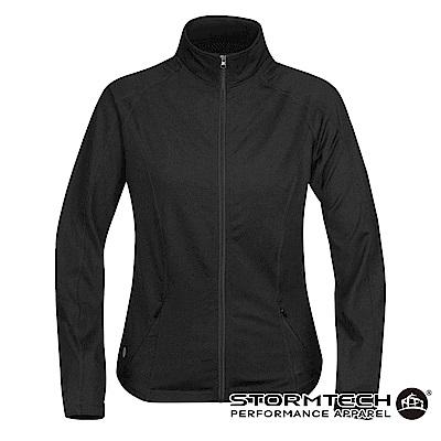 【加拿大STORMTECH】SAJ014 吸排科技H2X防磨修身運動外套-女-黑