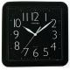 CASIO 流線大方指針方形掛鐘(IQ-02S-1)-黑/24.5cm product thumbnail 1