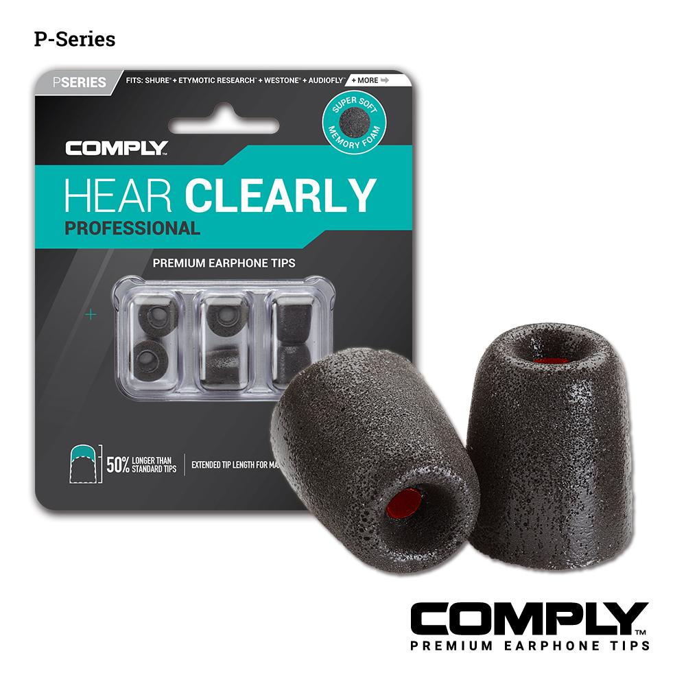 Comply 加強隔音科技泡綿耳塞 P-Series (3-pair)