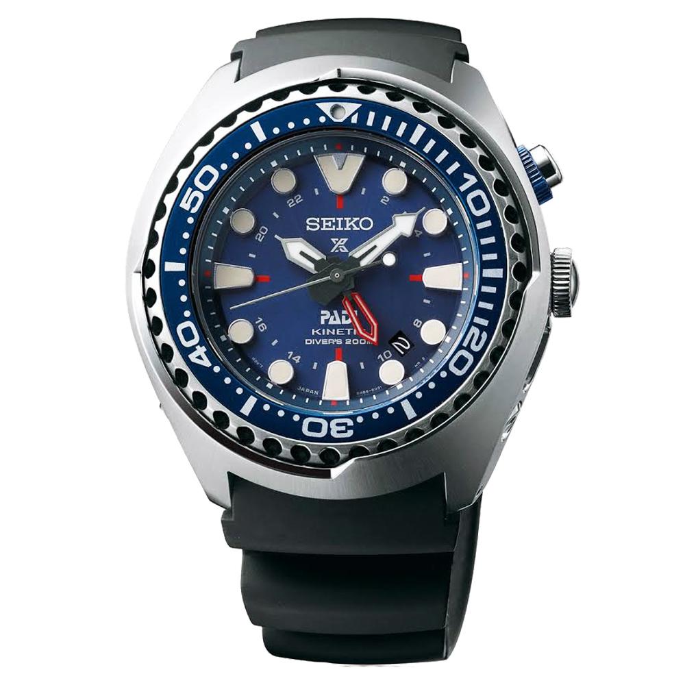 (無卡分期6期)SEIKO Prospex PADI GMT潛水200米聯名款SUN065P1