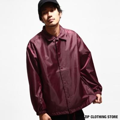 防潑水教練夾克 日本男裝