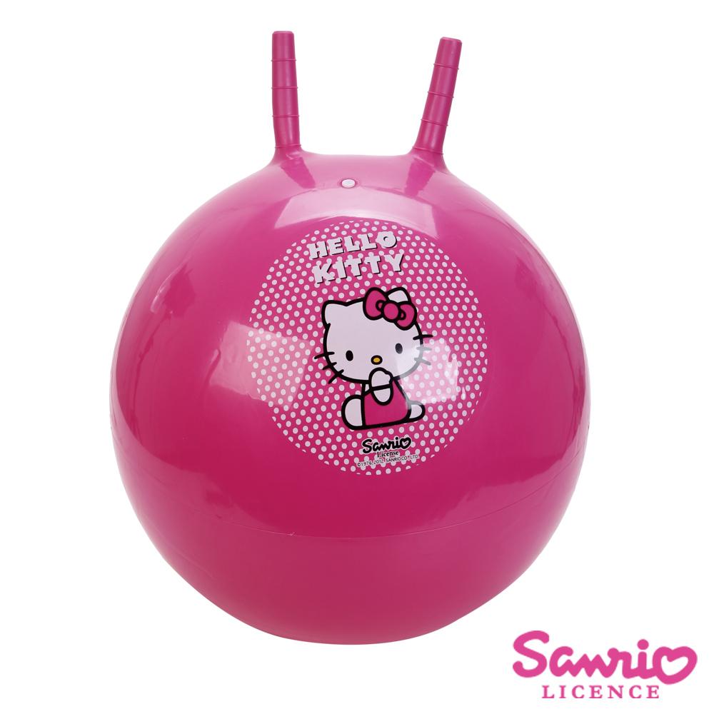 凡太奇_Hello Kitty。45cm雙耳瑜珈球/跳跳球-快速到貨