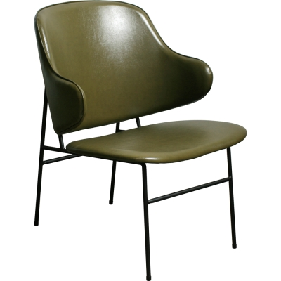 YOI傢俱 柏克斯休閒椅(綠色)YBO-179B