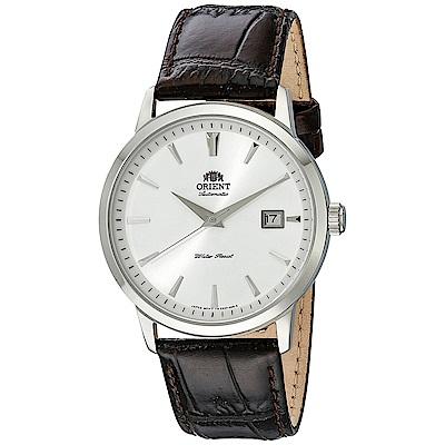 ORIENT 東方之星自動上鍊機械腕錶(FER27007W0)-白/41mm