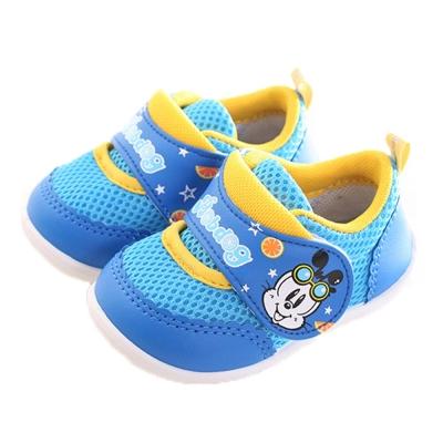 BOB DOG魔鬼貼寶寶鞋 藍 sk0197魔法Baby