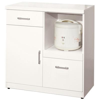 愛比家具 奈兒2.7尺單門碗碟櫃