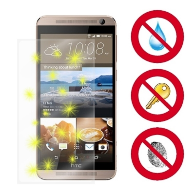D&A HTC One E9+ (5.5吋)電競專用玻璃奈米5H↗螢幕保護貼
