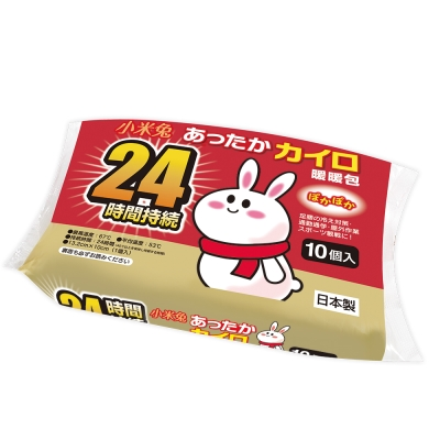 小米兔手握式暖暖包(10入裝)