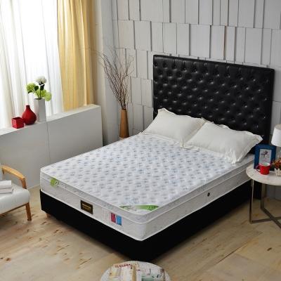 MG珍寶 三線天嵐天絲乳膠 高蓬度護邊獨立筒床墊 雙人5尺 涼感抗菌護腰床