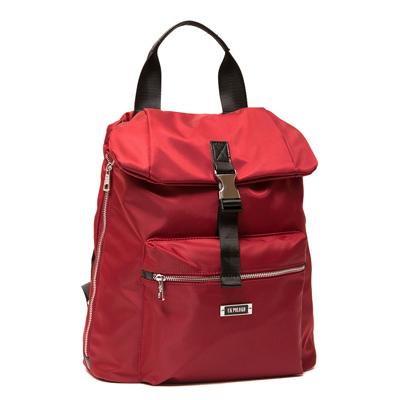 ANGIMI SHOP 後背手提韓版熱銷雙造型包-紅色