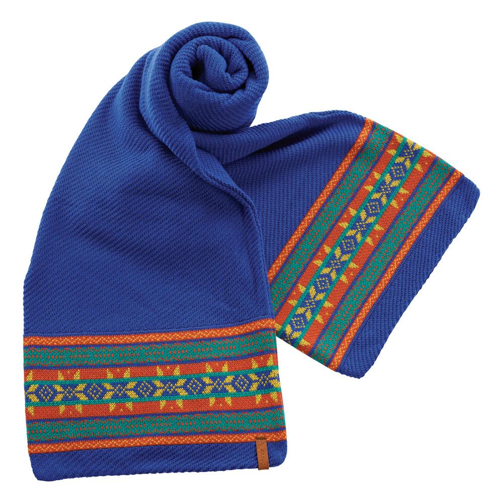 【ATUNAS 歐都納】保暖圍巾 A-A1544 藍