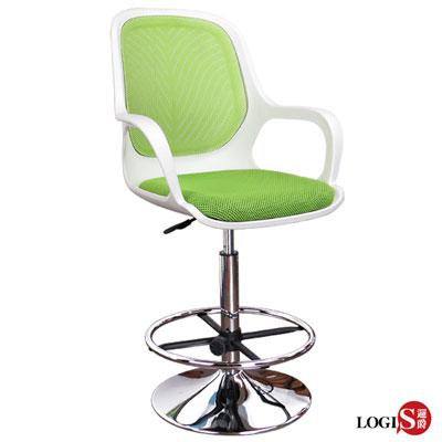 邏爵LOGIS-白羽 高吧椅吧檯椅/美容椅/休閒/旋轉椅/工作椅 6色