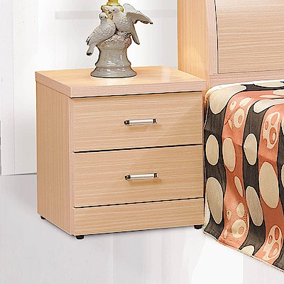 H&D 橡木色床頭櫃 (寬48.5X深40.3X高53cm)
