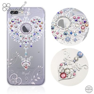 apbs iPhone7 Plus 5.5吋施華洛世奇彩鑽手機殼-永恆愛鍊