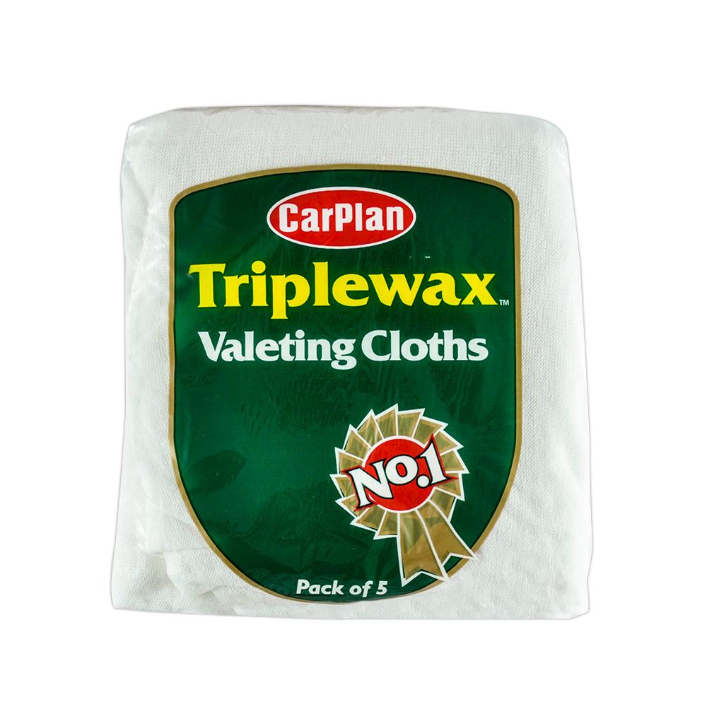 CarPlan卡派爾 Triplewax 內裝/外部清潔布