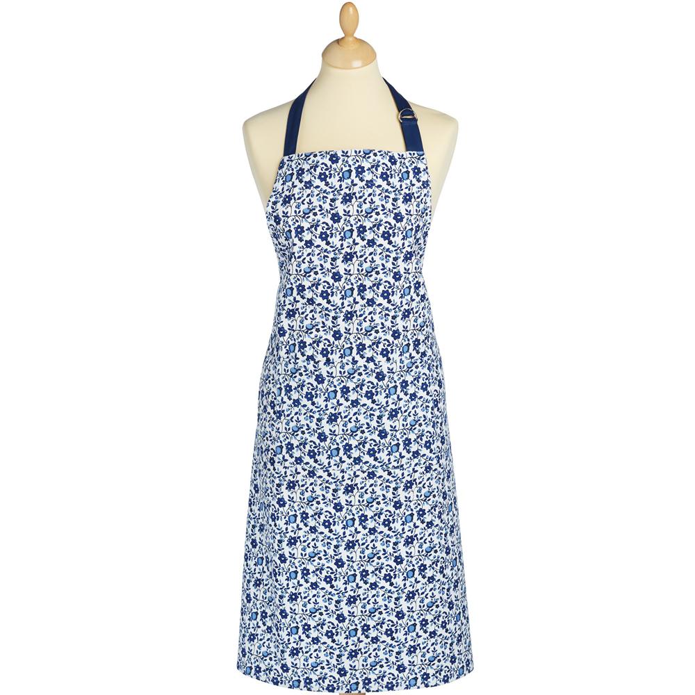 KitchenCraft 平口單袋圍裙(青花)
