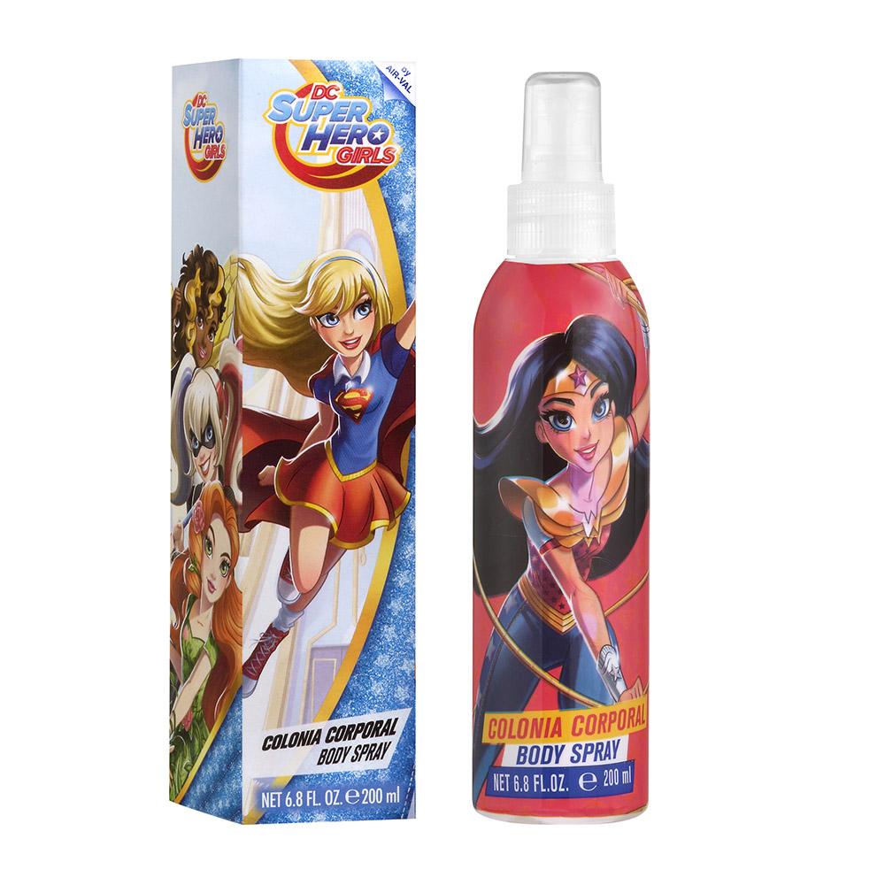 SUPER HERO GIRLS 超級英雄女孩香水身體噴霧200ml