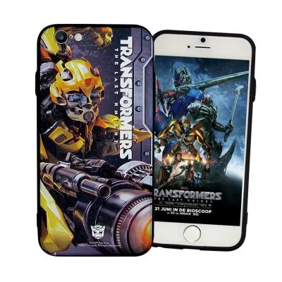 正版授權 變形金剛5 iPhone6/ 6S Plus 雙料浮雕保護殼(大黃蜂-...