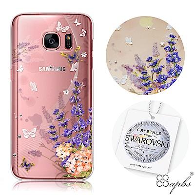 apbs Samsung S7&S7edge 施華洛世奇彩鑽手機殼-普羅...
