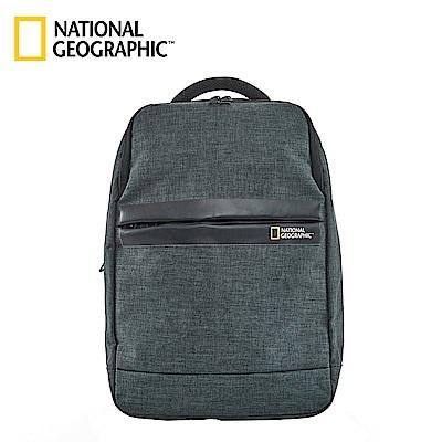 國家地理 National Geographic Stream 無印U型設計後背包-墨綠