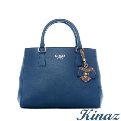 KINAZ加冕典禮兩用斜背包-異國藍-伊歐拉尼皇宮系列
