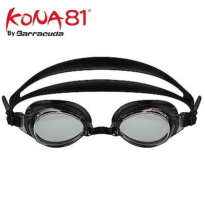 美國巴洛酷達Barracuda KONA81三鐵度數泳鏡K71395 黑
