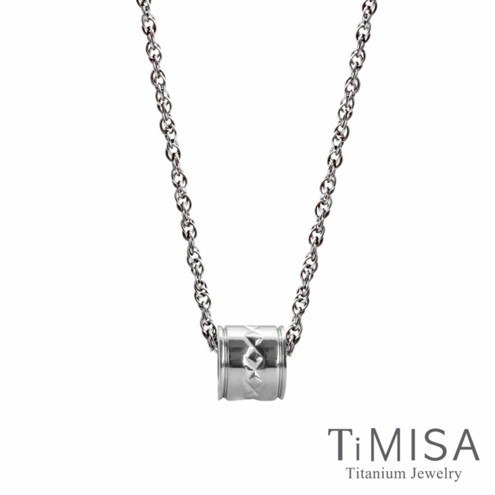 TiMISA 誓約 純鈦項鍊(SSB)