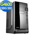 華碩H110平台【假面英雄GTX1050TI獨顯版】G4600雙核燒錄效能SSD電腦