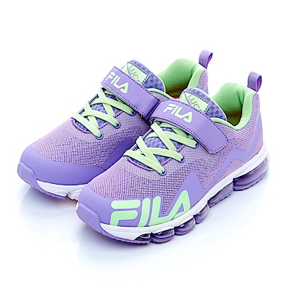 FILA KIDS 大童氣墊MD慢跑鞋-紫3-J408S-966