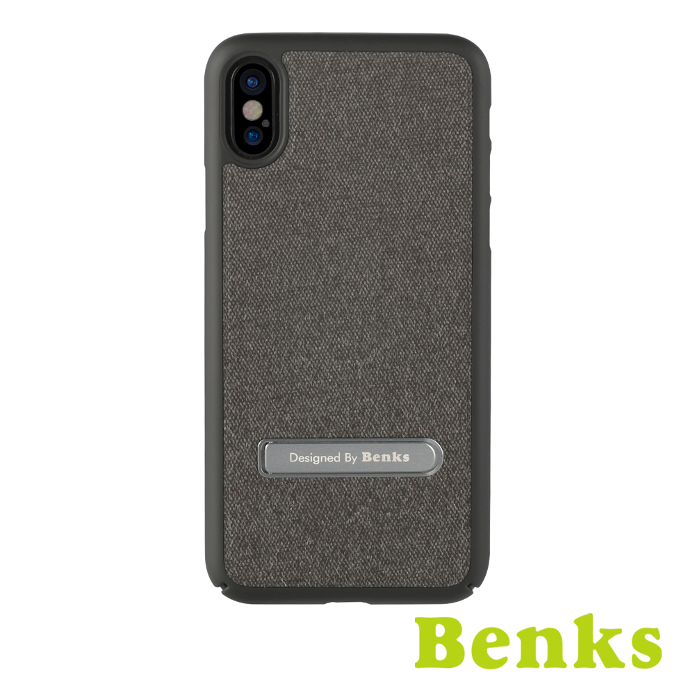 Benks Brownie iphone X金屬支架保護硬殼