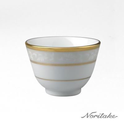 Noritake 花舞春風金邊茶杯
