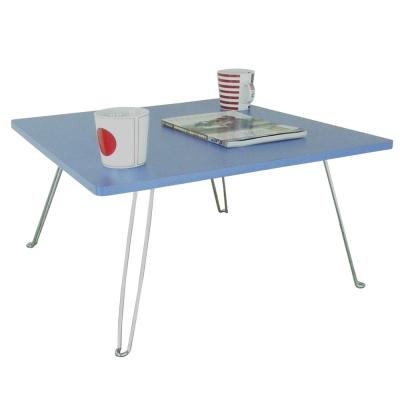 【美耐】折疊桌/和室桌-中(美耐皿板面-藍紫色)