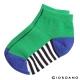 GIORDANO童裝條紋撞色短襪- 50 綠