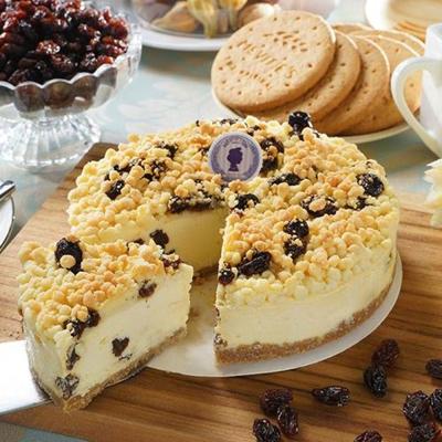 搭啵s  酥波蘿蘭姆葡萄重乳酪蛋糕(6吋)(蛋奶素)
