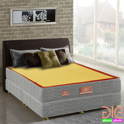 aie 竹碳二線一面蓆彈簧床墊(經濟型)-雙人加大6尺