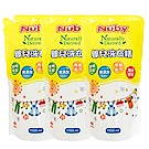 美國 Nuby 嬰兒洗衣精補充包 1100ml (3入)