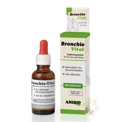 ANIBIO德國家醫寵物保健系統-Bronchio Vital支氣管守護精華飲30ml