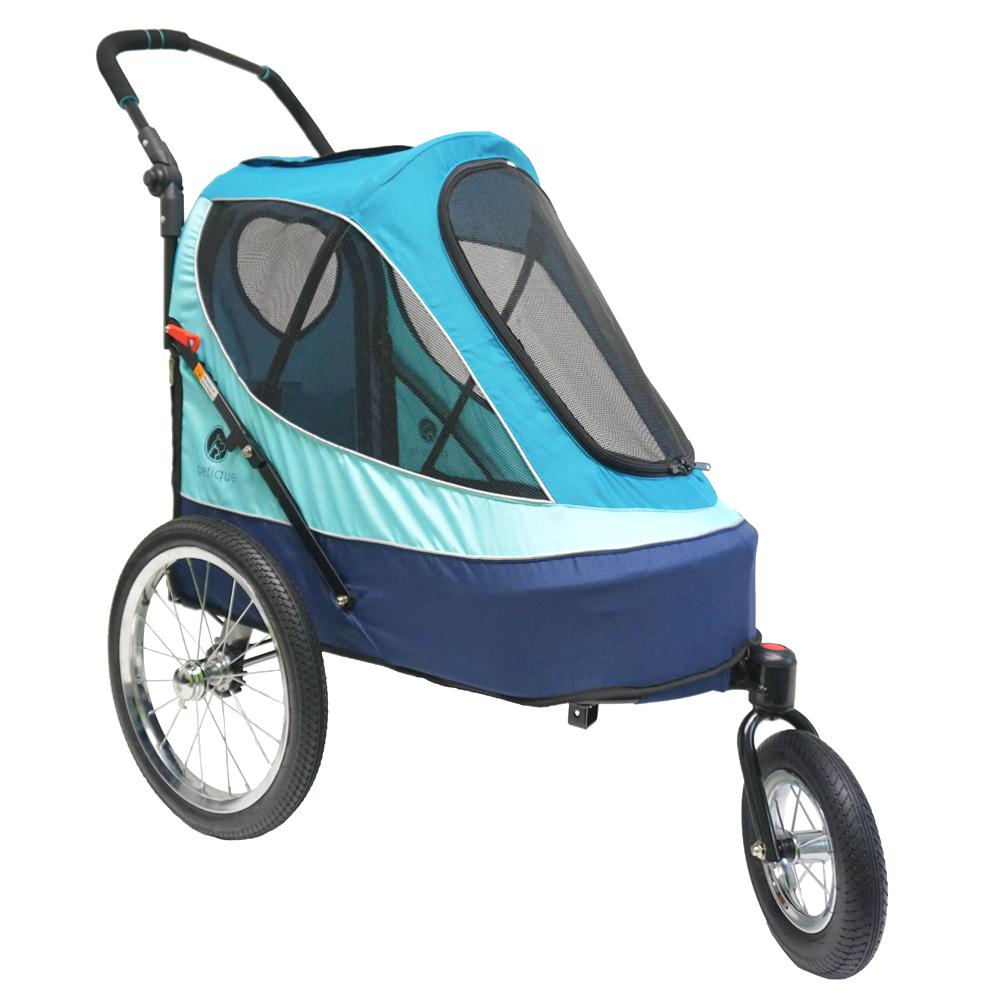 petique 百嬌客 全方位運動推車(藍色)
