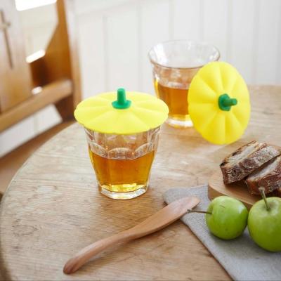 YAMAZAKI 蔬菜造型杯蓋-南瓜