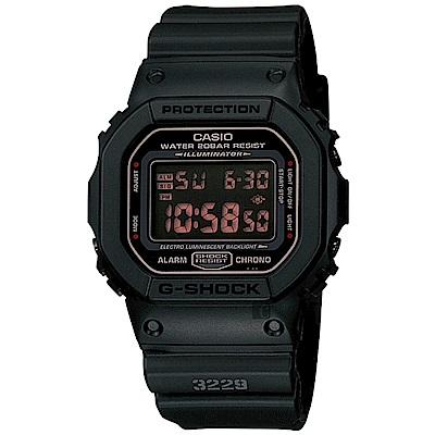 CASIO卡西歐 G-SHOCK 軍事經典電子錶