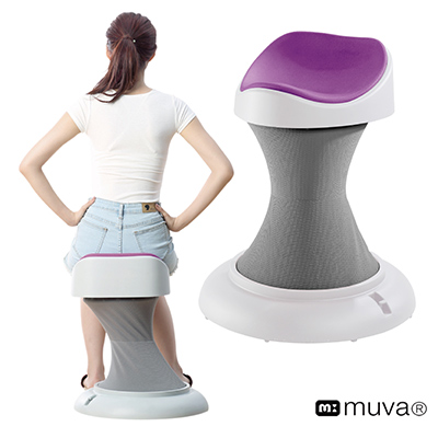 muva健康呼拉椅-活力紫