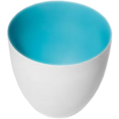 PHILIPPI 薄光燭台(藍)